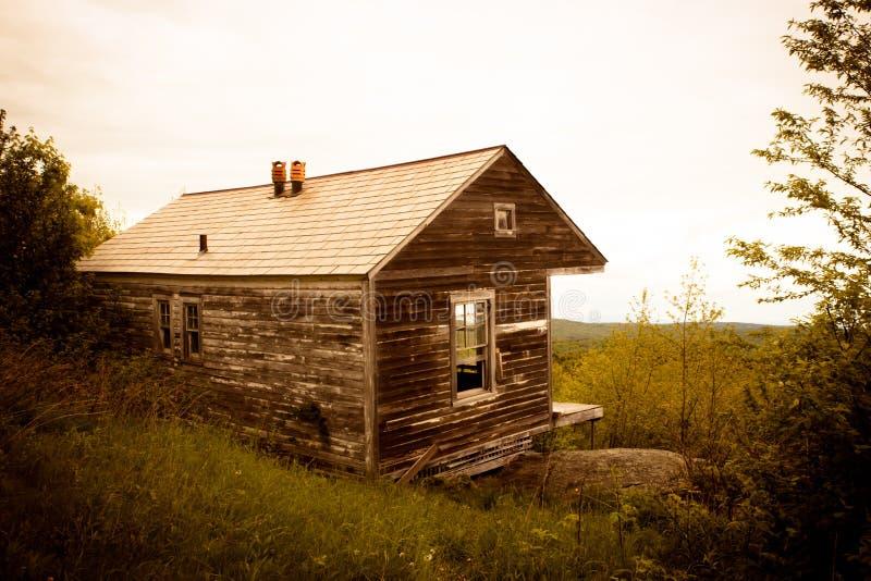 Montañas de Vermont de la cabina de la montaña del Hogback imágenes de archivo libres de regalías