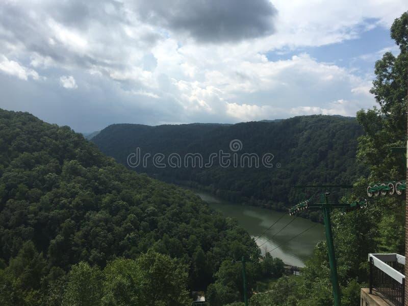 Montañas de Virginia Occidental fotos de archivo