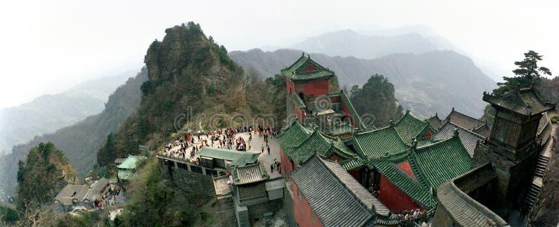 Montañas de Wudang, Wudangshan imágenes de archivo libres de regalías