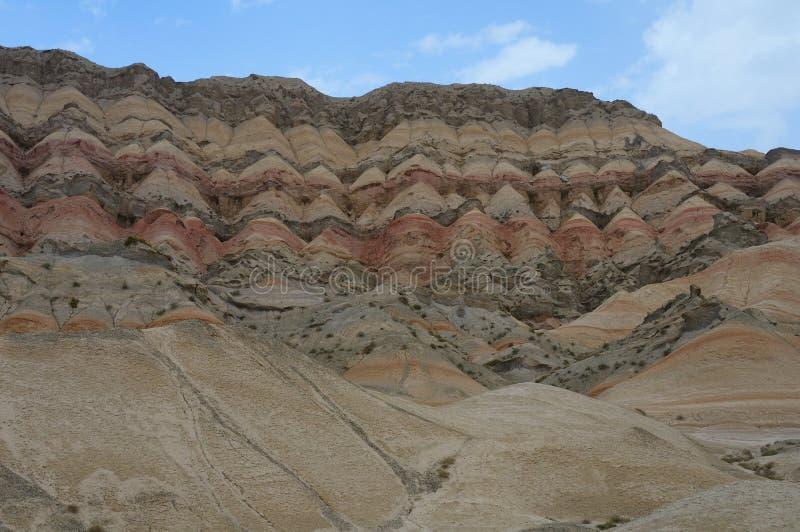 Montañas del cielo, Xinjiang, China foto de archivo