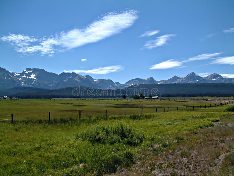 Montañas del diente de sierra de Idaho VII fotografía de archivo libre de regalías