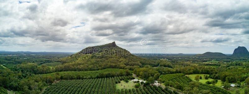 Montañas del invernadero imagen de archivo libre de regalías
