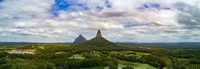 Montañas del invernadero foto de archivo libre de regalías