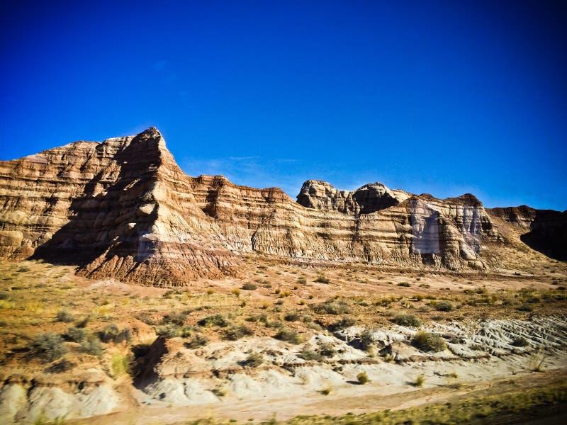 Montañas del norte de Las Vegas imagenes de archivo