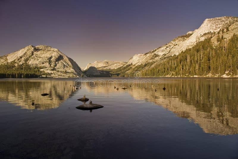 Montañas del parque nacional de Yosemite fotografía de archivo libre de regalías