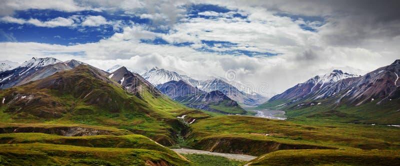Montañas en Alaska foto de archivo libre de regalías