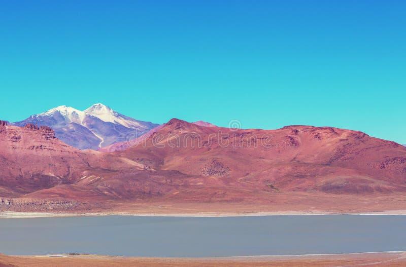 Montañas en Bolivia imagen de archivo