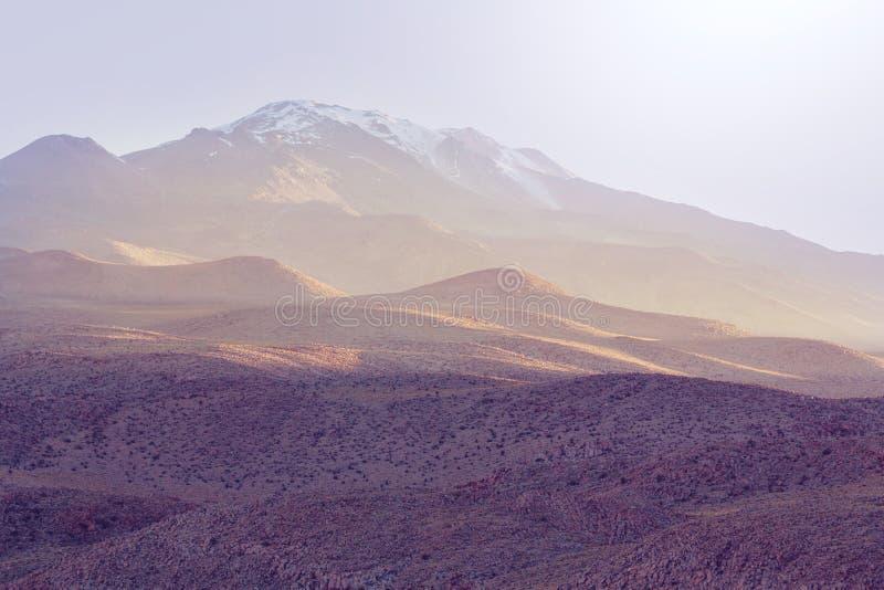Montañas en Bolivia foto de archivo