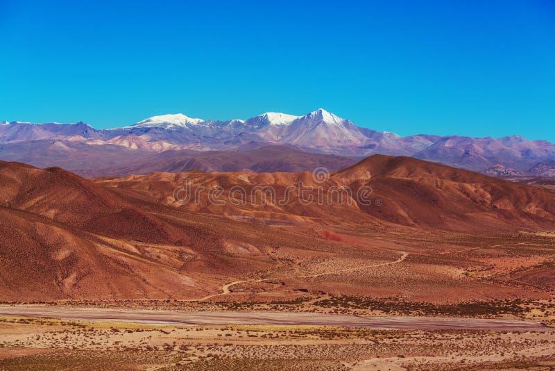 Montañas en Bolivia imagen de archivo libre de regalías