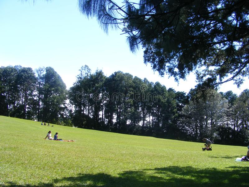 Montañas en día soleado del ina de Heredia Costa Rica fotos de archivo