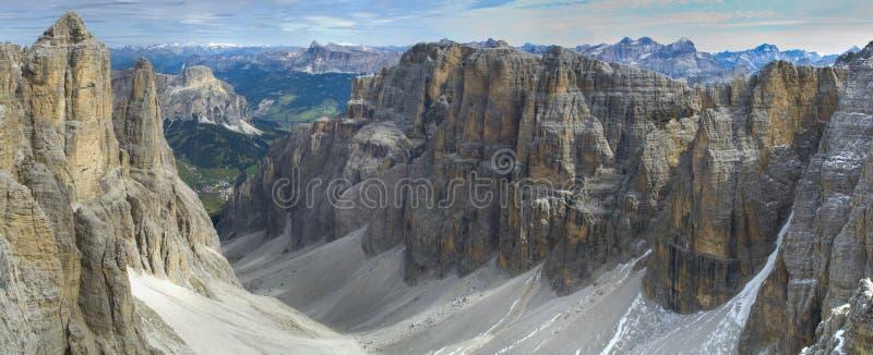 Montañas en dolomía fotos de archivo libres de regalías