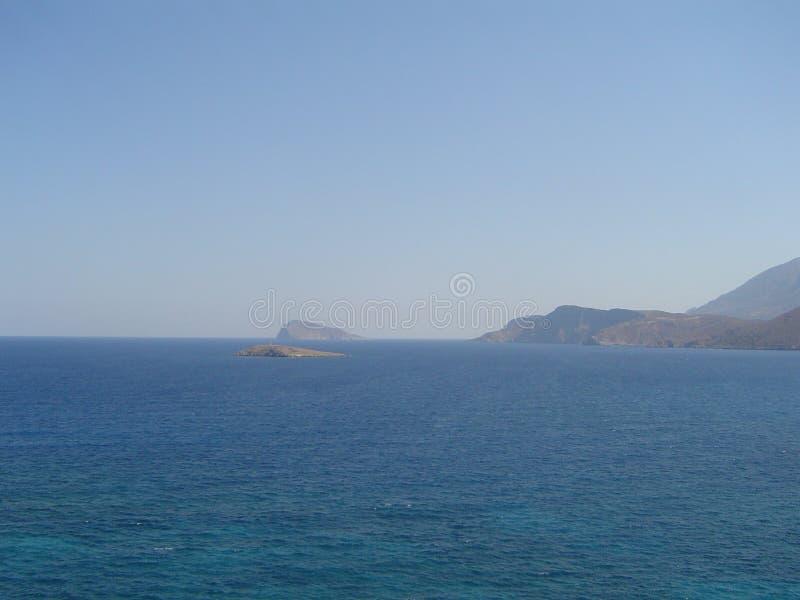 Montañas en Kreta fotos de archivo