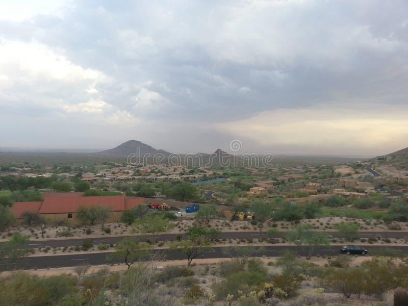 Montañas en la distancia fotografía de archivo libre de regalías