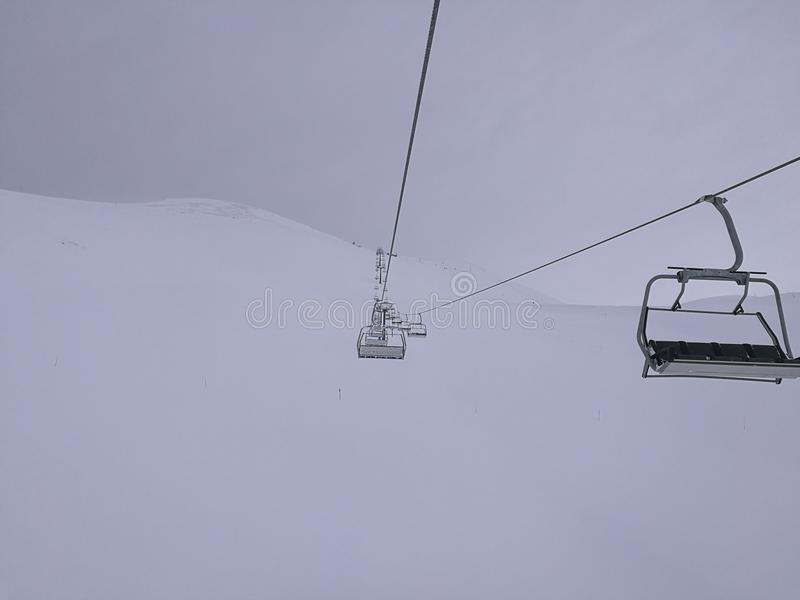 Montañas en Sochi fotografía de archivo