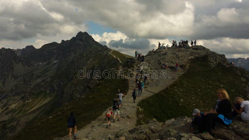 Montañas en Zakopane fotos de archivo libres de regalías