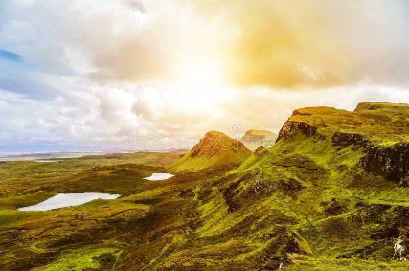 Montañas escocesas foto de archivo