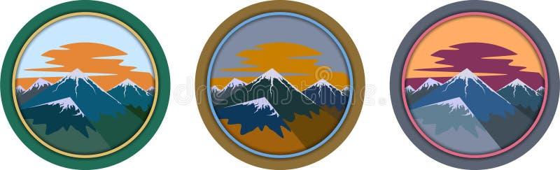 Montañas. Estaciones. fotografía de archivo libre de regalías