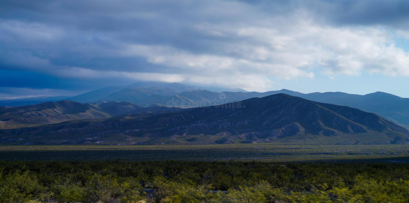 Montañas frescas fotos de archivo