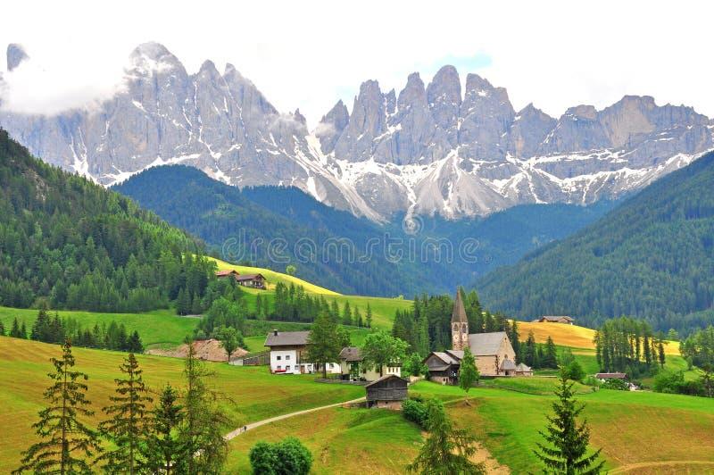 Montañas italianas imagen de archivo libre de regalías