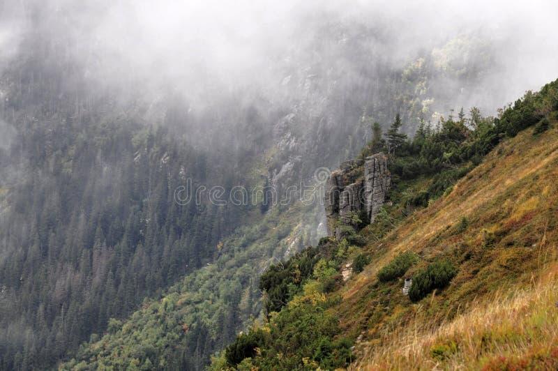 Montañas Krkonose imágenes de archivo libres de regalías