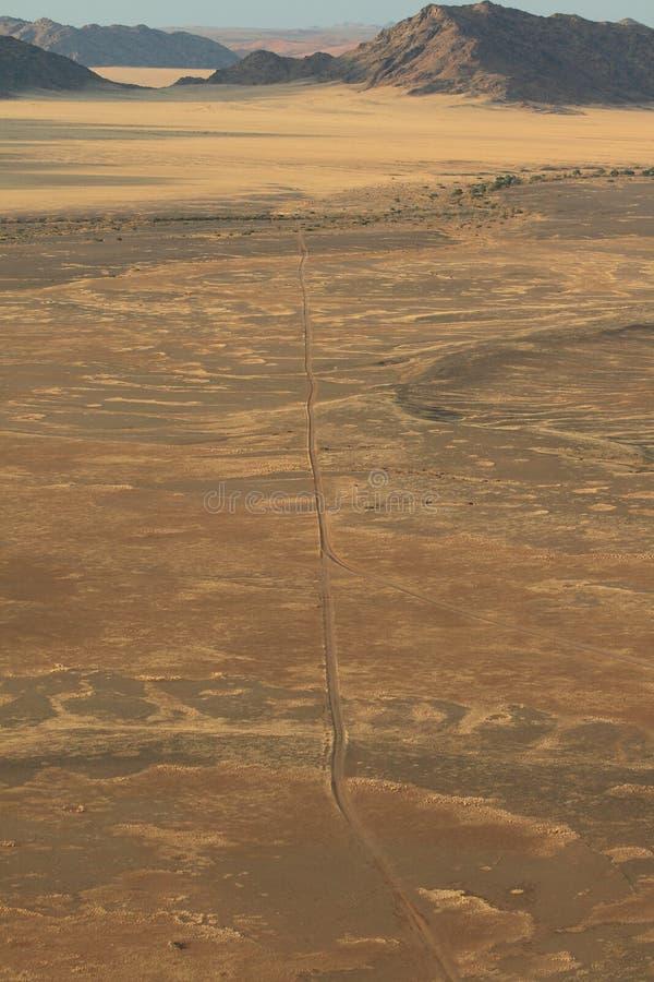 Montañas namibianas del paisaje del desierto imágenes de archivo libres de regalías