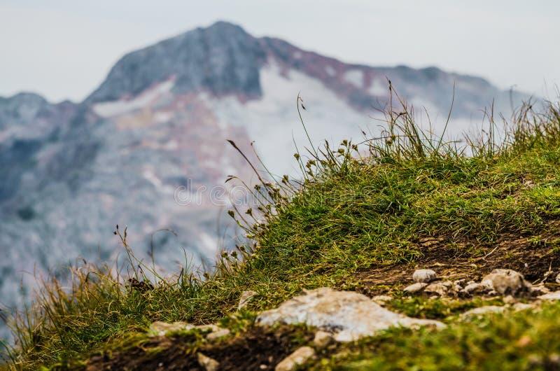 Montañas, naturaleza, cima, turismo imagen de archivo