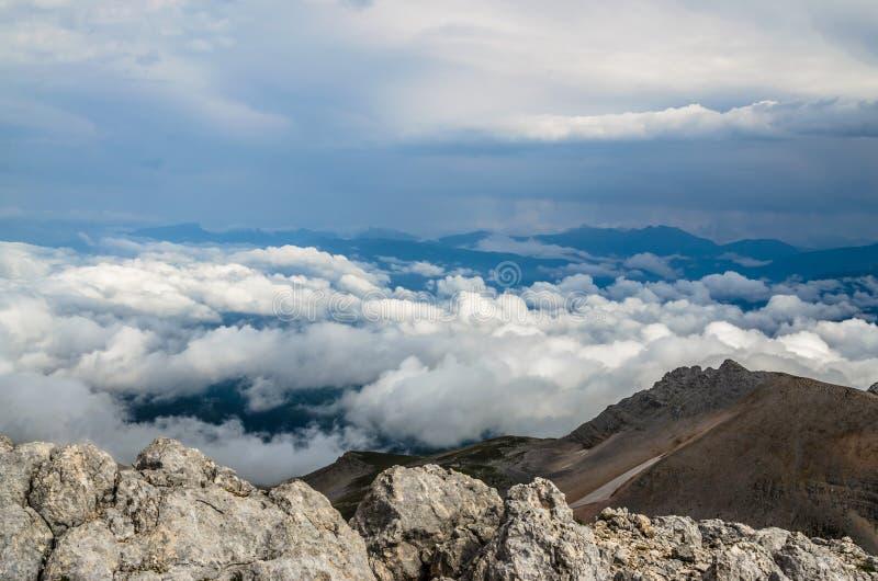 Montañas, naturaleza, cima, turismo fotos de archivo libres de regalías