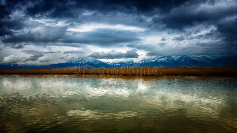 Montañas panorámicas foto de archivo