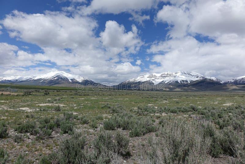 Montañas perdidas del río - Idaho fotos de archivo