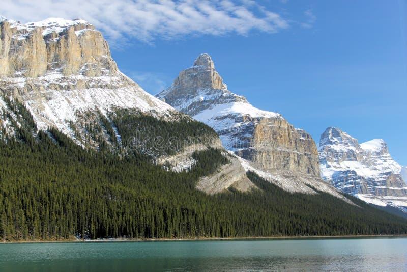 Montañas rocosas - Canadá fotos de archivo