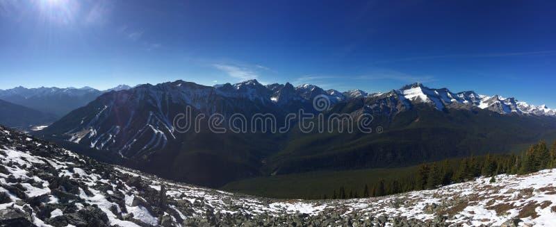 Montañas rocosas Canadá fotos de archivo libres de regalías