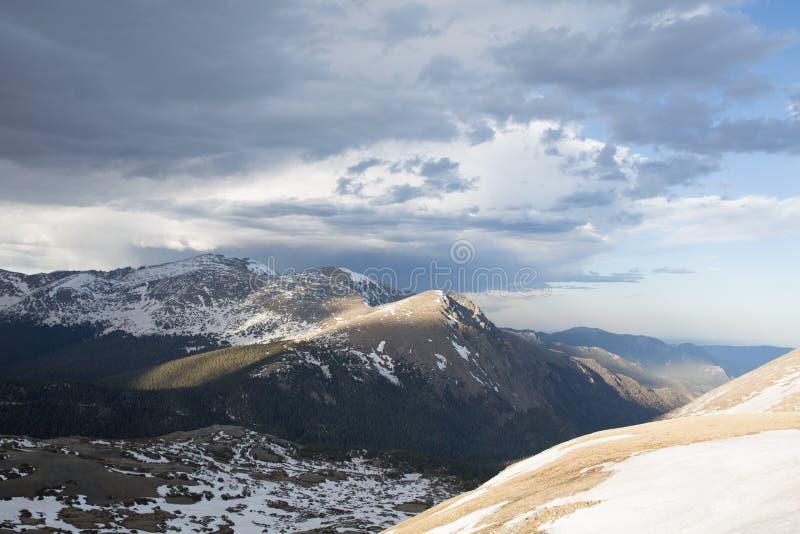 Montañas rocosas de Colorado imagen de archivo