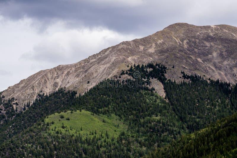 Montañas rocosas del Mt princeton Colorado imágenes de archivo libres de regalías