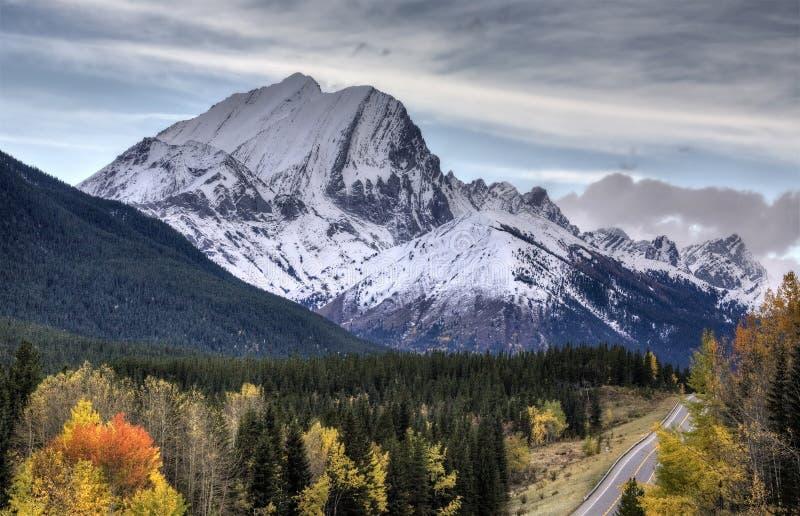 Montañas rocosas Kananaskis Alberta fotos de archivo libres de regalías