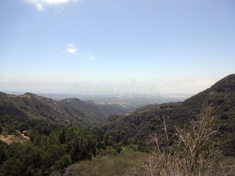Montañas Santa Bárbara fotografía de archivo