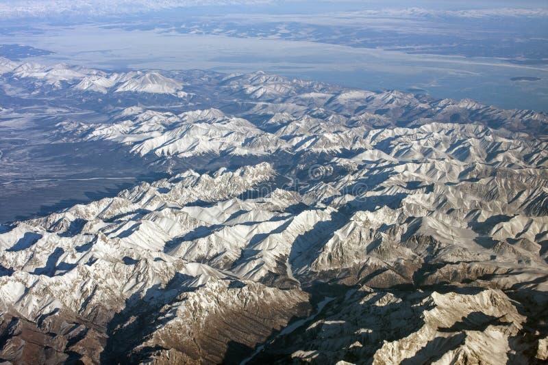 Montañas siberianas imagen de archivo