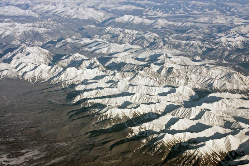 Montañas siberianas fotos de archivo libres de regalías