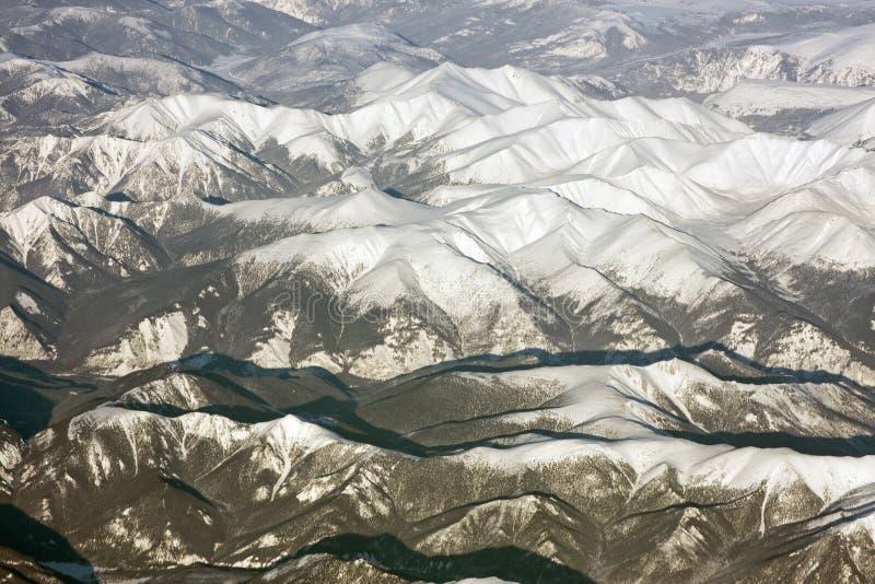 Montañas siberianas foto de archivo