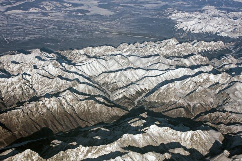 Montañas siberianas foto de archivo libre de regalías