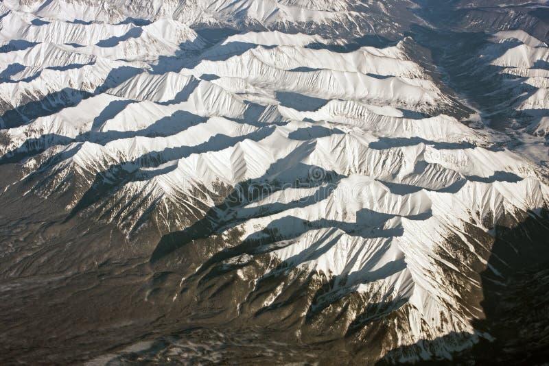 Montañas siberianas imagen de archivo libre de regalías