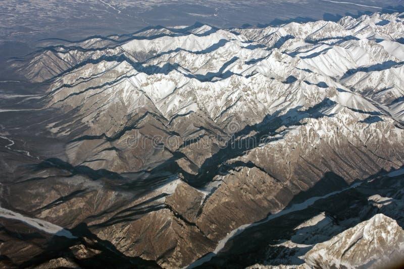 Montañas siberianas imagenes de archivo