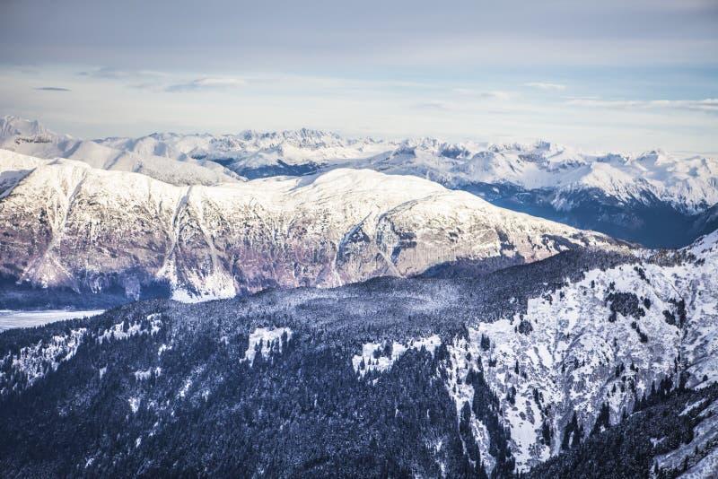 Montañas surorientales de Alaska fotografía de archivo libre de regalías