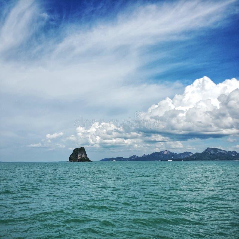 Montañas tailandesas fotos de archivo