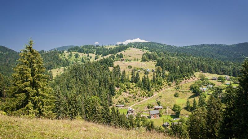 Montañas ucranianas foto de archivo