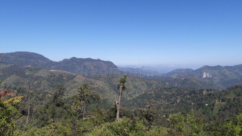 Montañas y naturaleza del Mountain View fotos de archivo libres de regalías