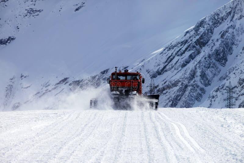 Montañas y nieve fotografía de archivo