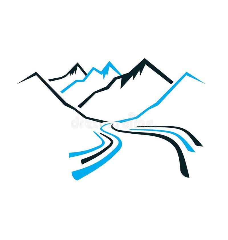 Montañas y valle libre illustration