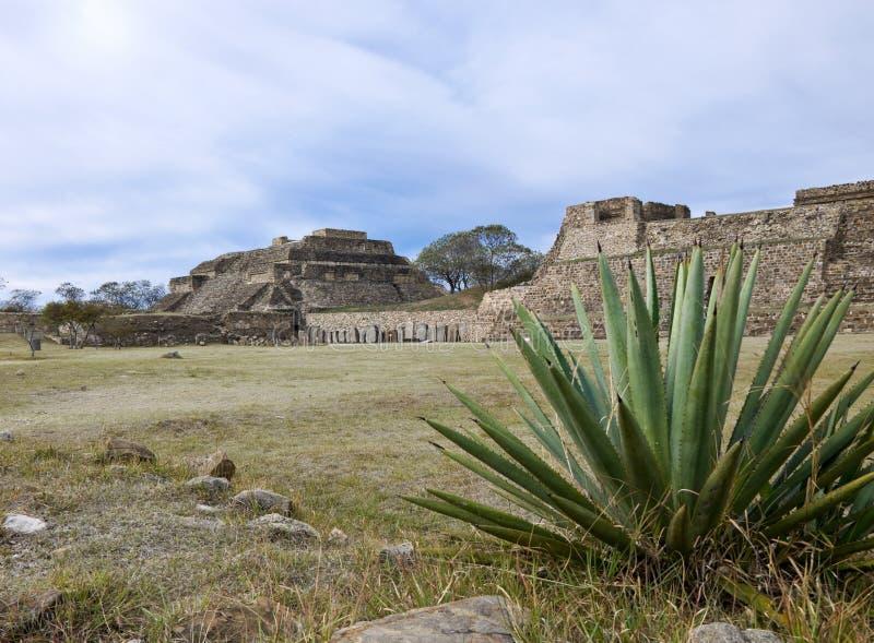 Monta Alban, Mexique image libre de droits