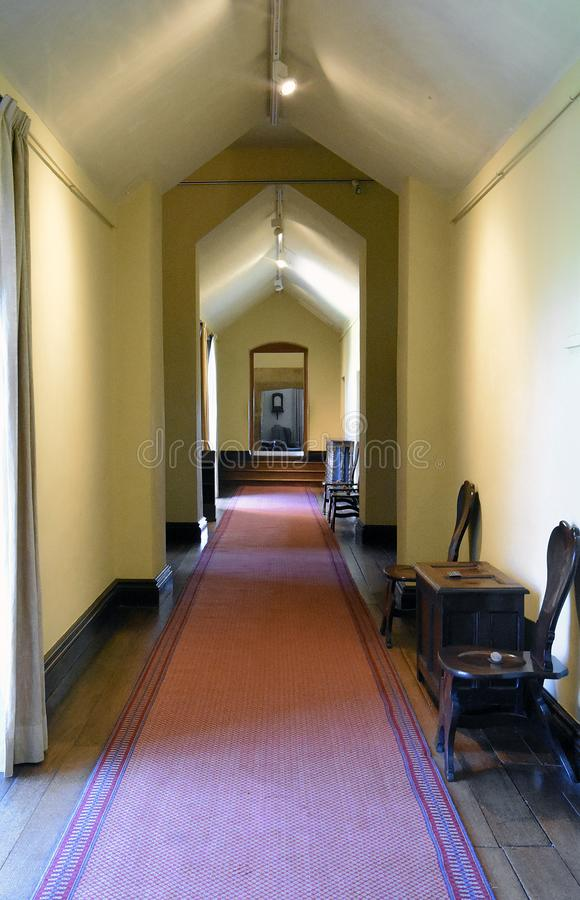 Free Montacute House Passageway Stock Photography - 160312312