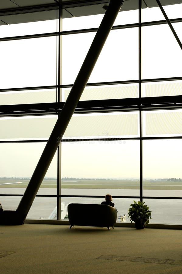 Montage d'aéroport photo stock
